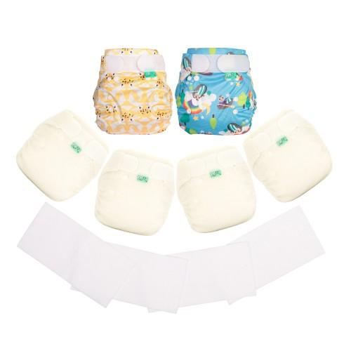 TotsBots reusable Night Nappies kit