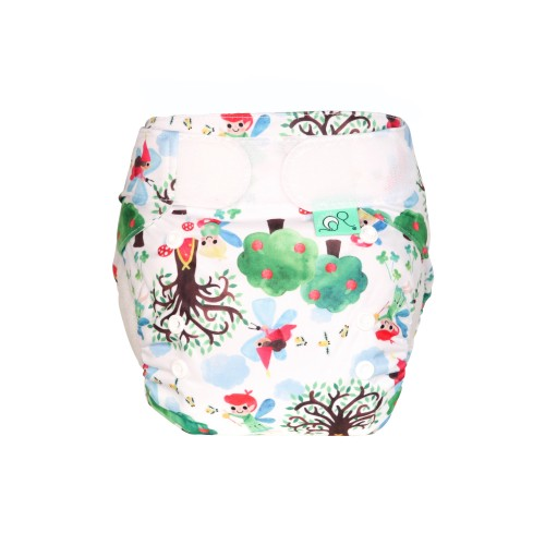 TotsBots Reusable Nappy - Wee Folk Front
