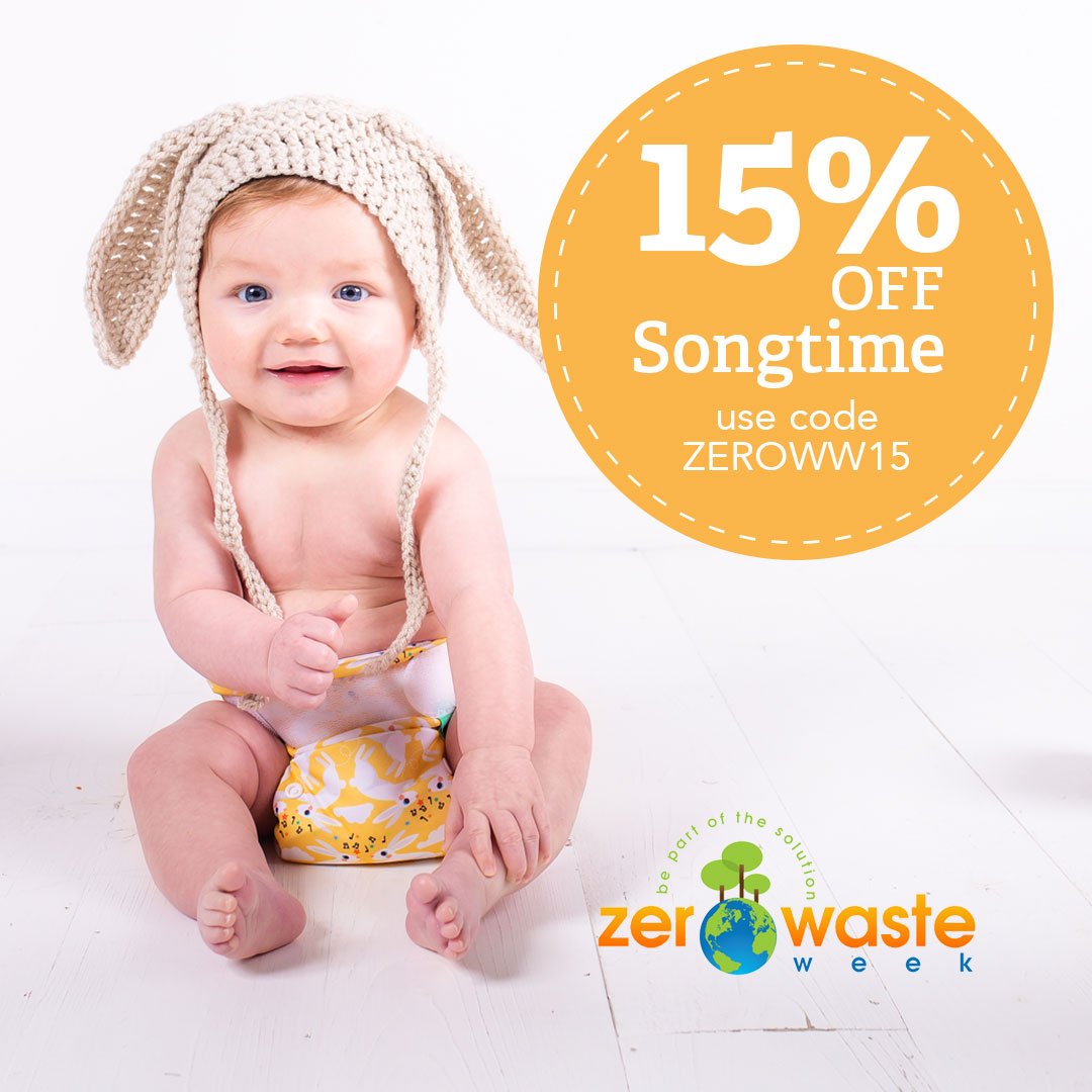 Zero Waste Week: Seven ways reusable nappies reduce waste
