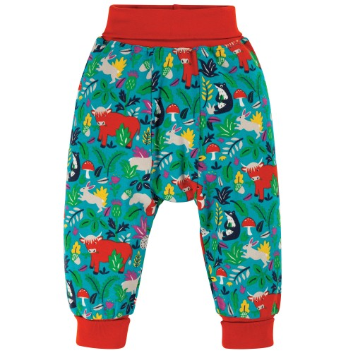 Frugi Woodland Critters Parsnip Pants