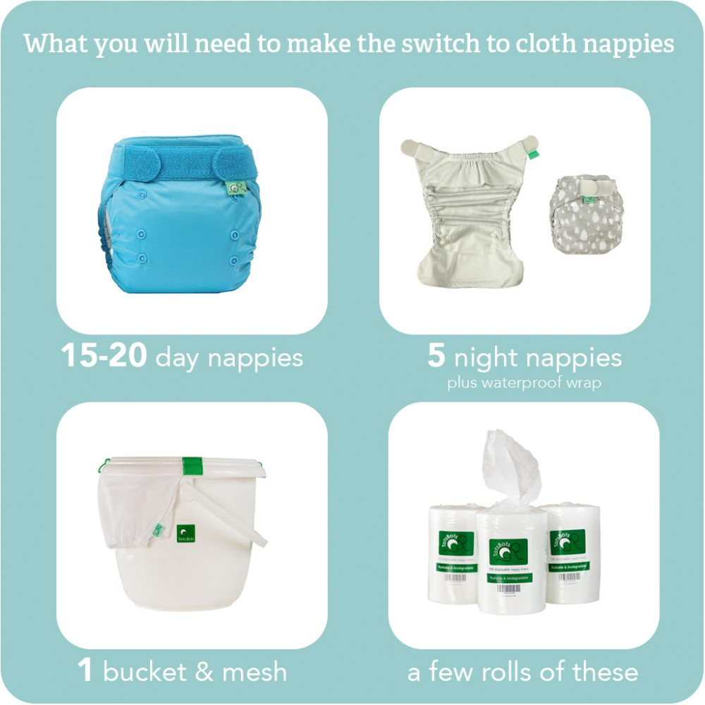 Nappy Easyfit STAR Whirl