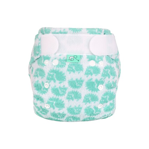 TotsBots Bamboozle night nappy - Hedgehug front