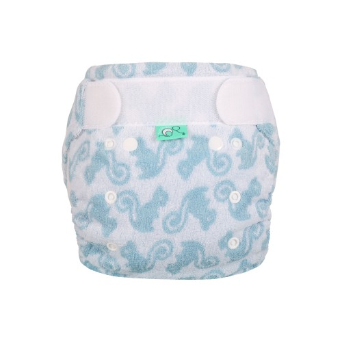 TotsBots Bamboozle night nappy - Squiddle front