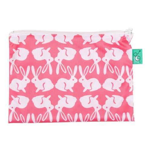 TotsBots waterproof reusable wipe bag - Bummy Wabbit