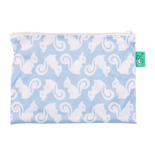 TotsBots waterproof reusable wipe bag - Squiddle