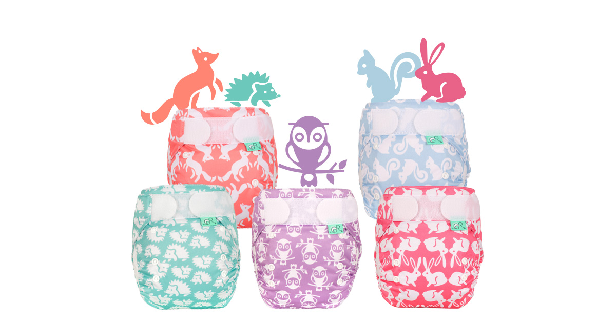 TotsBots Reusable Nappies — New Matchy Prints!