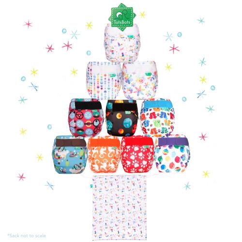 TotsBots Christmas Sack Snowbaby