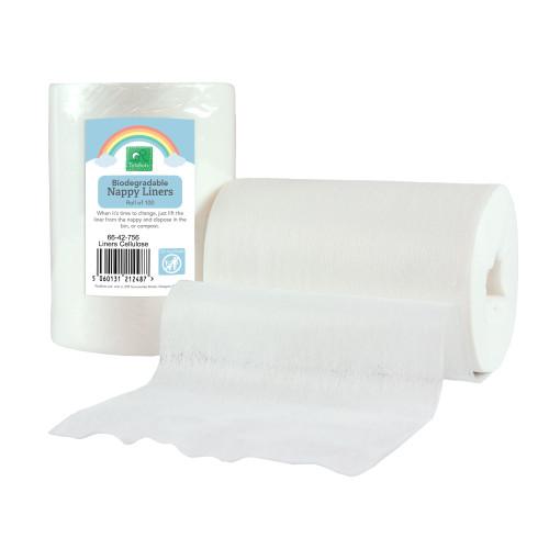 TotsBots Biodegradable Reusable Nappy Liners