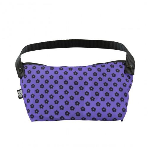 Bloomers Bathroom Bag Purple