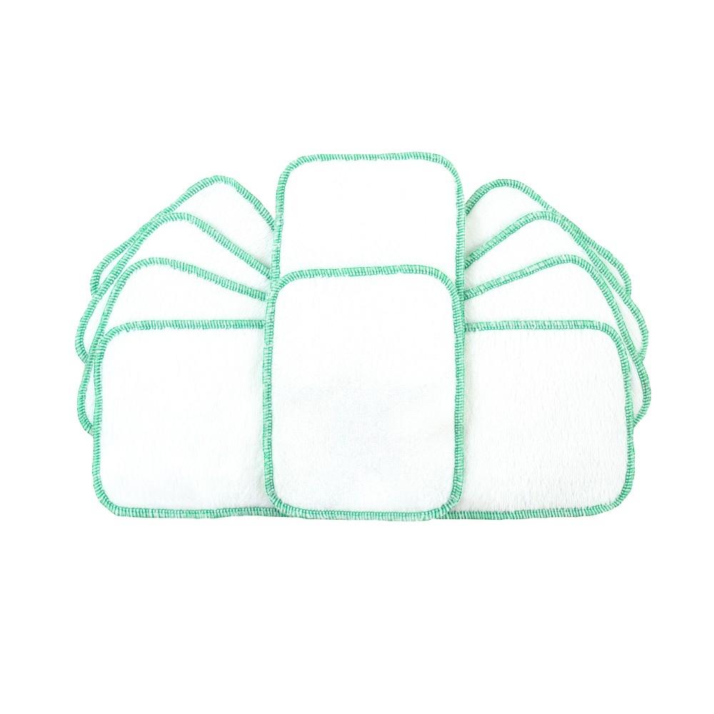 Reusable Wipes White