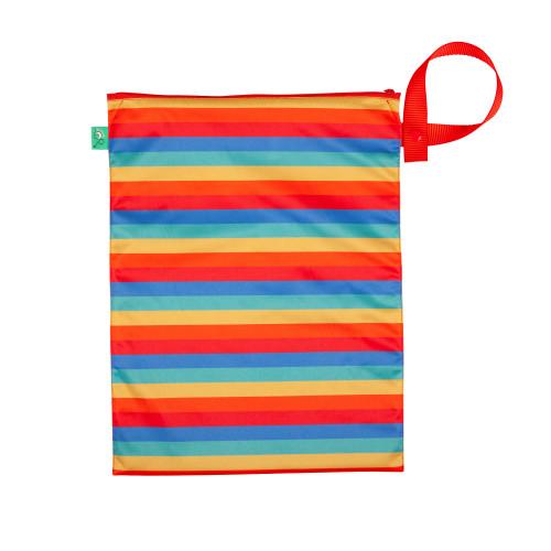 Nappy Bag Rainbow Stripe