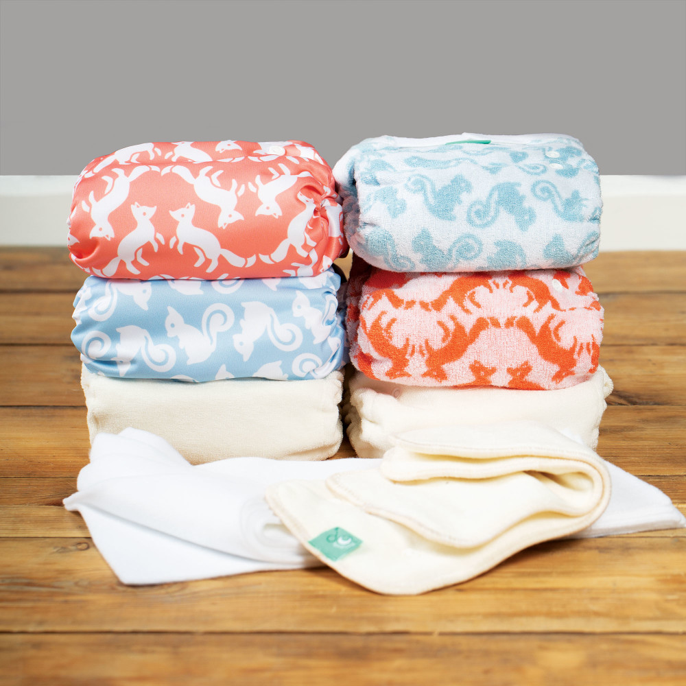 Bamboozle night-time nappy 4-pack