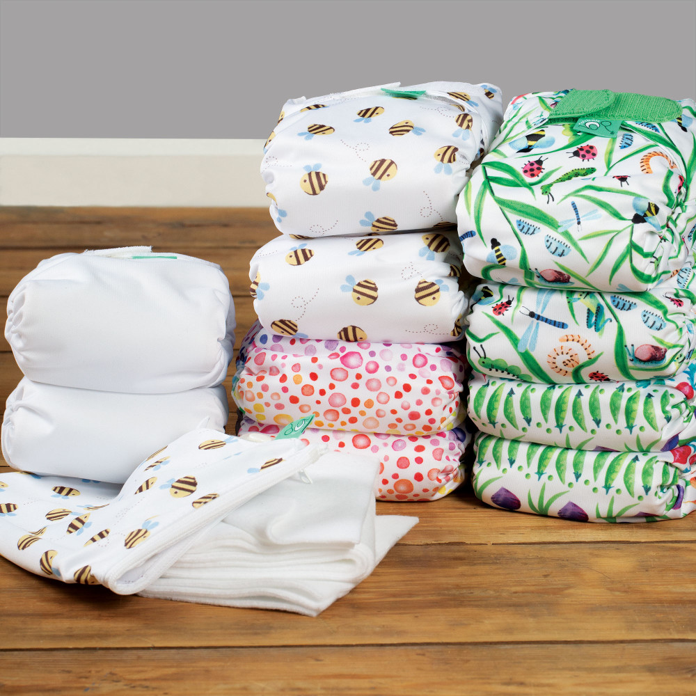 TeenyFit newborn all-in-one nappy part-time kit