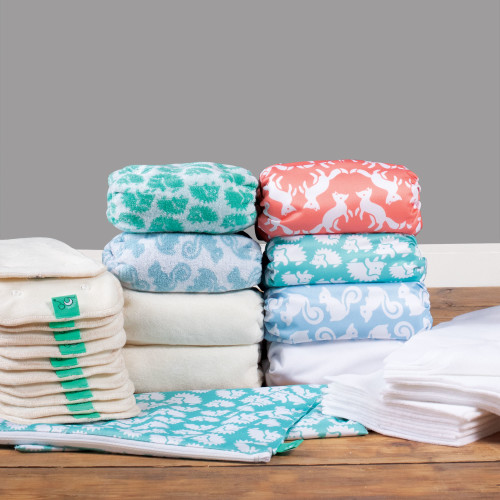 Bamboozle day-to-night nappy part-time kit