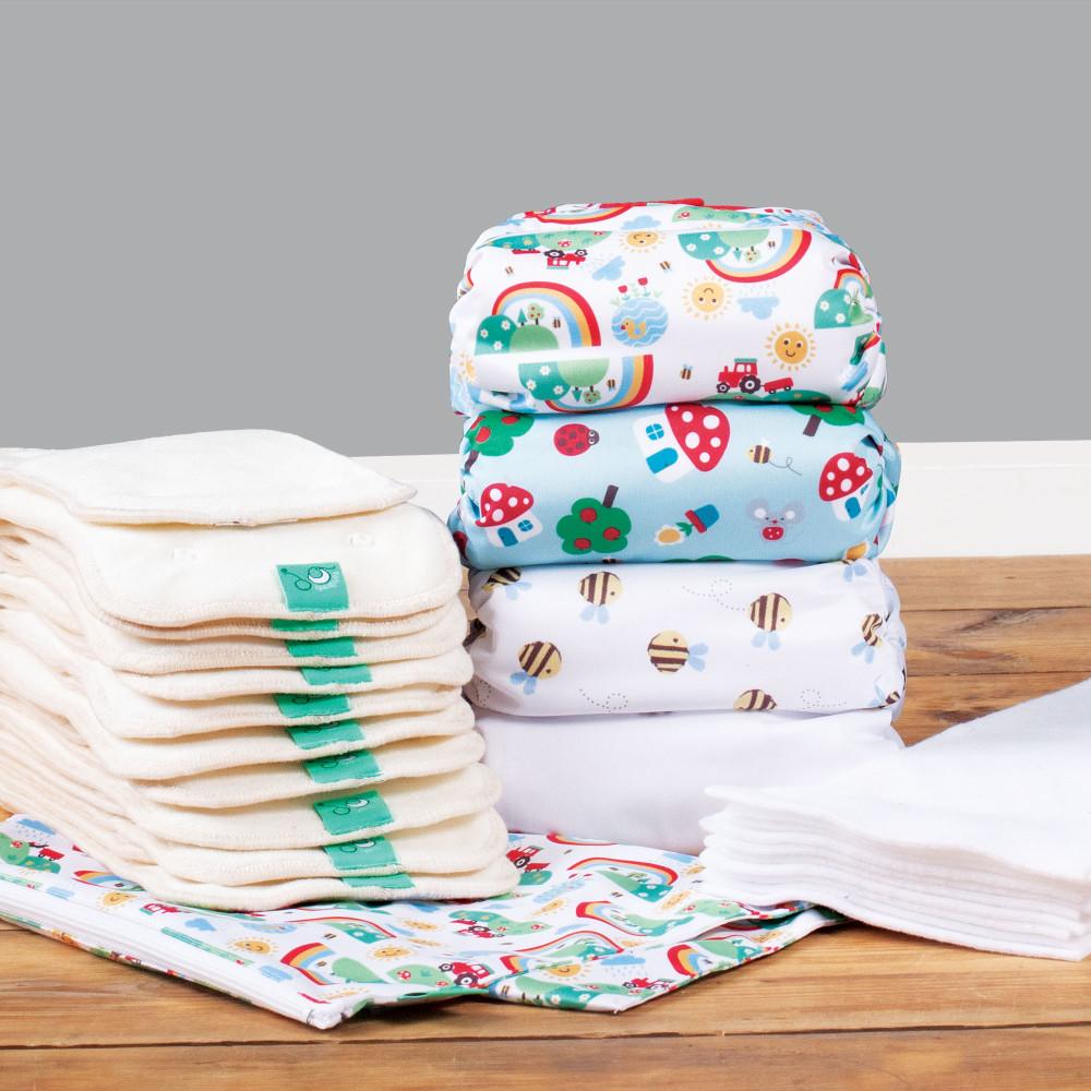 Bamboozle daytime nappy part-time kit