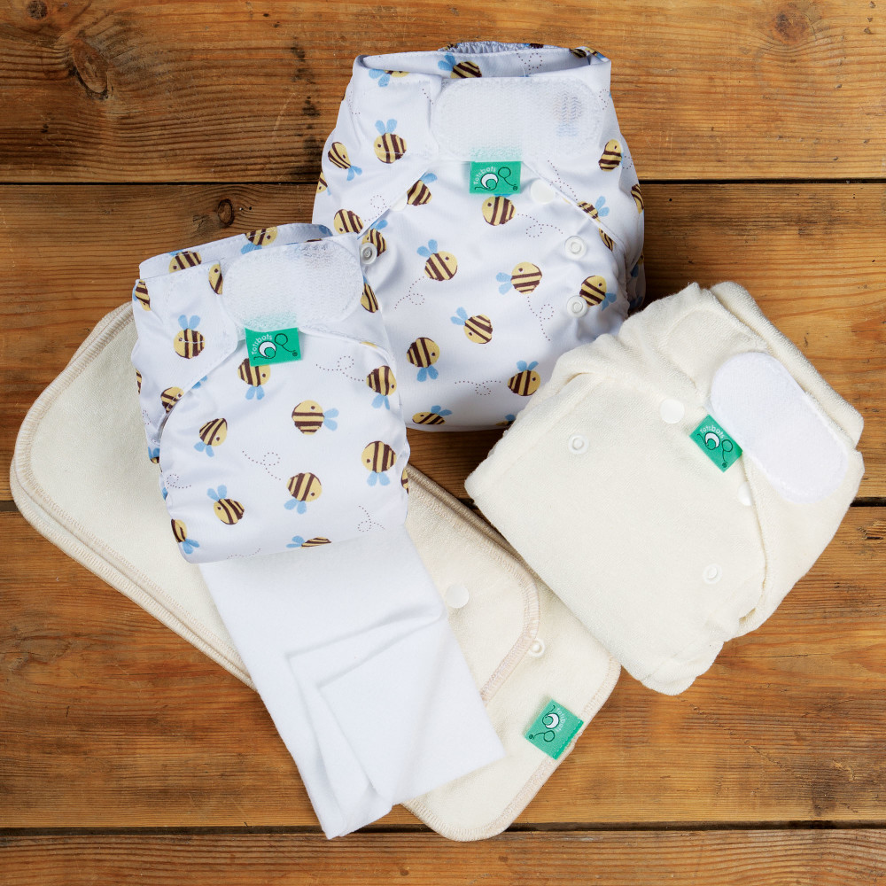 Newborn nappy trial kit