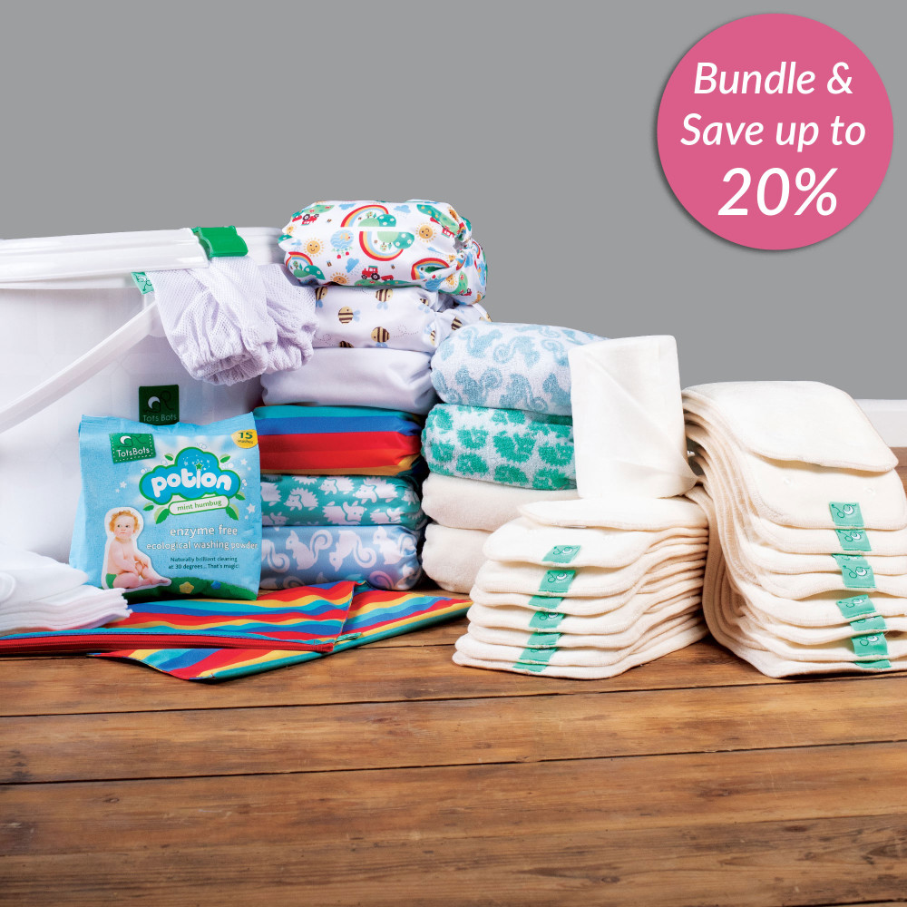 Bamboozle Day-to-Night Nappy Complete Kit Newborn