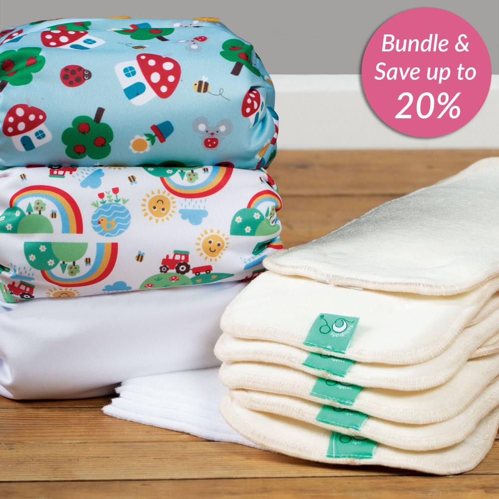 Bamboozle Daytime Nappy Intro Kit Newborn