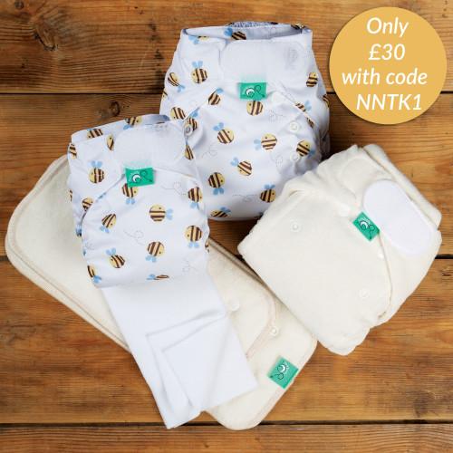 Newborn nappy trial kit - Buzzy Bee