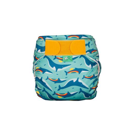 TotsBots Reusable Swim Nappies - Rainbow Whale