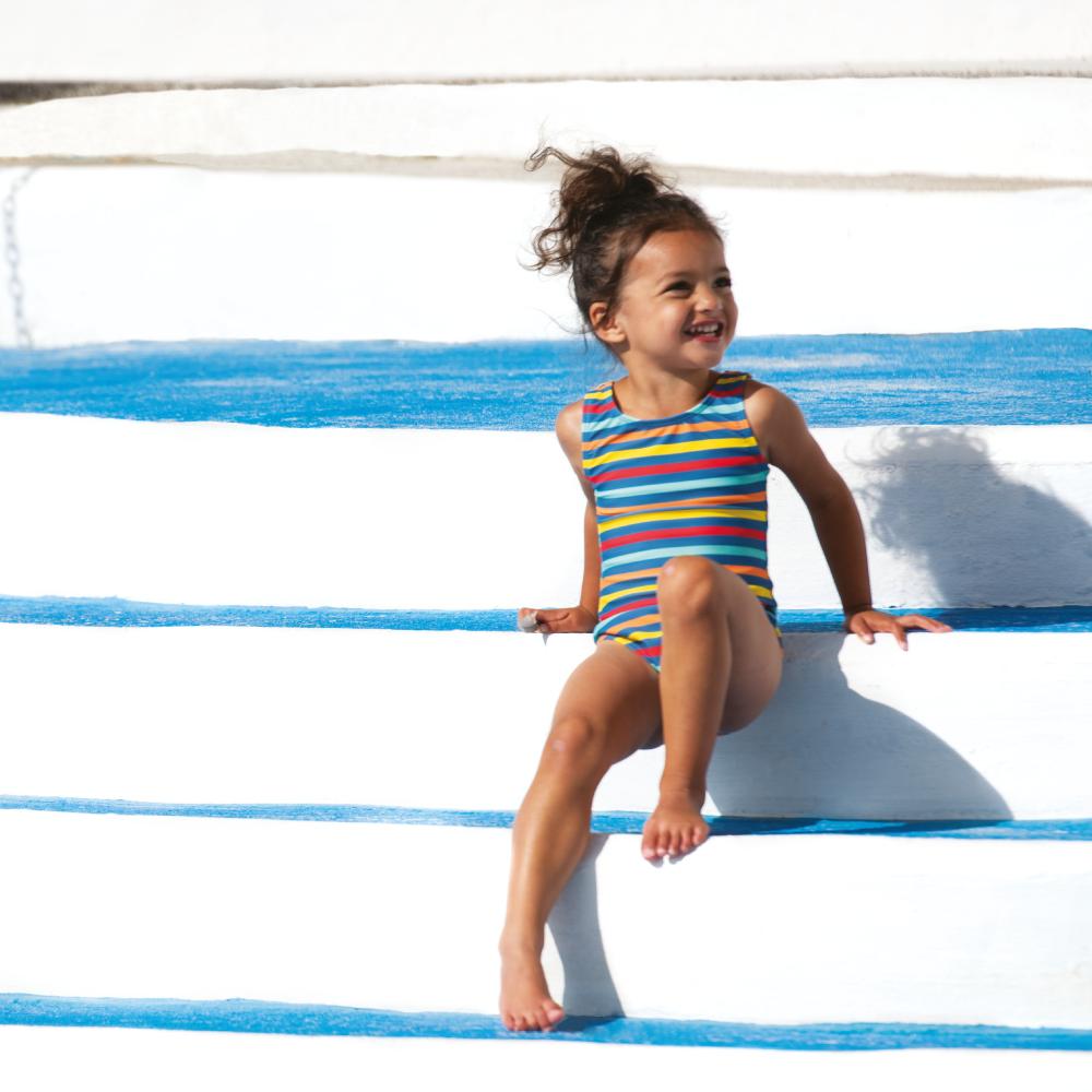 Frugi Little Sally Swimsuit