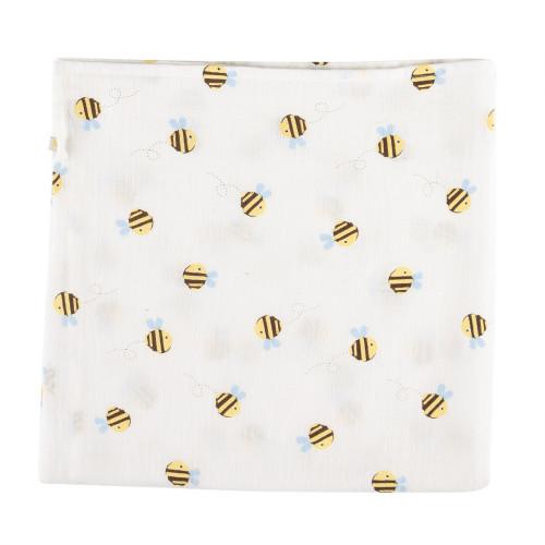 Frugi Organic Muslin Buzzy Bee