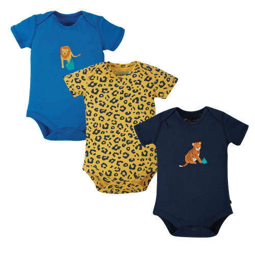 TotsBots - Frugi organic baby clothing - Super special 3-pack body
